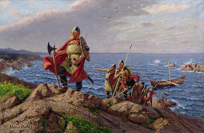 Картина Ханса Даля.